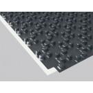 PELIA Noppenplatte PREMIUM 11 mm WLG 035, 1 × 1 m, 20 m²/20 Platten