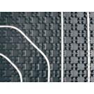 PELIA Noppenplatte PREMIUM ohne Dämmung, 1 × 1 m, 30 m²/30 Platten